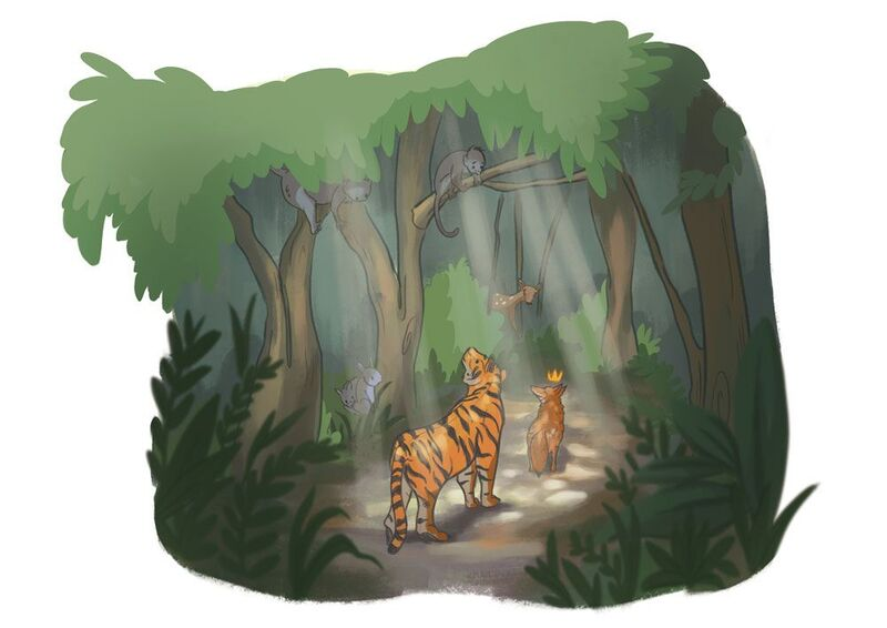 29. The Tiger Behind the Fox